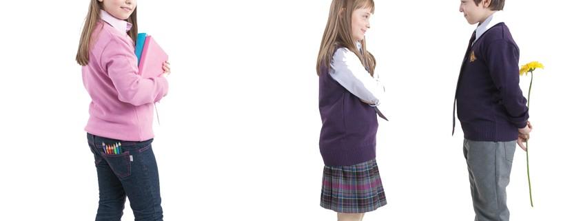 училищни униформи, пуловер с дълъг ръкав